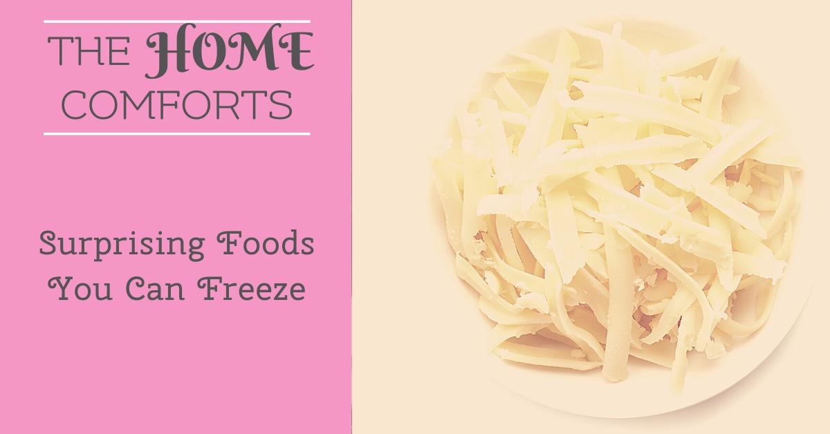 Surprising Foods You Can Freeze