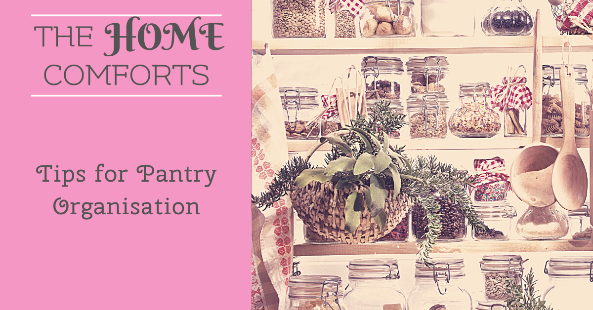 Tips for Pantry Organisation